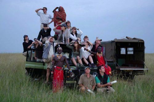 Family safari amboseli national park