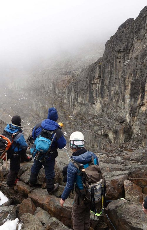 Rwenzori mountain climbing activities