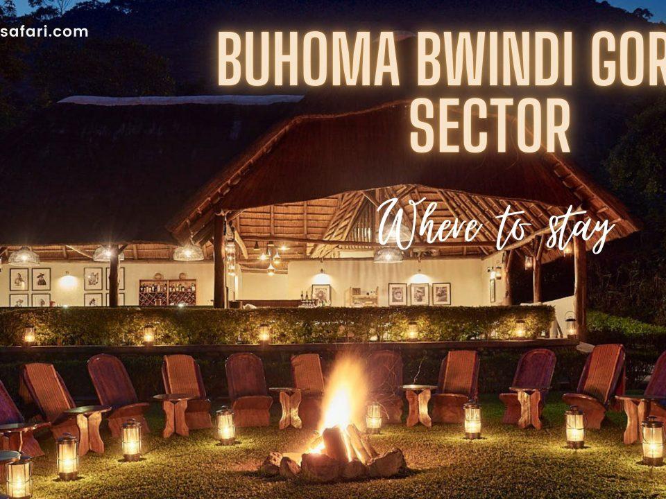 accommodation in buhoma bwindi
